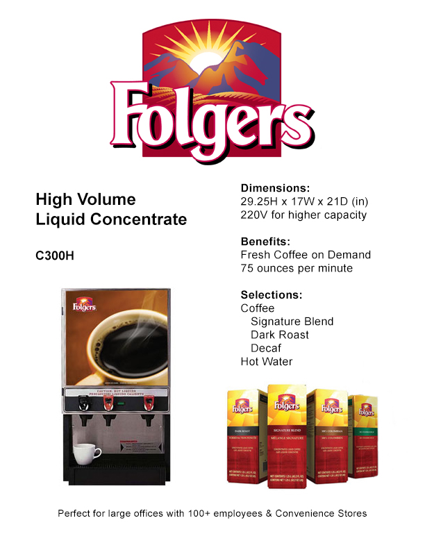 FolgersConcentrate C300